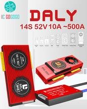 14s 52v 48v 20a 30a 40a 60a 100a 120a 150a 200a 250a li ion lipo bateria de lítio placa de proteção para daly bms equilíbrio ebike