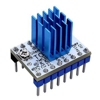 Reemplazo con accesorios para disipador de calor módulo conductor 3d pieza de impresora Motor paso a paso herramienta de tablero duradero potente para TMC2130 V1.1