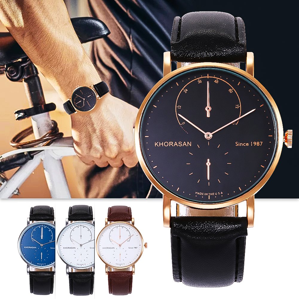 Timing Brand Military Luxury Watch Sports Fitness Creative Cost Men's Wristwatches Leather Watchband Clocks Alloy Watch Case