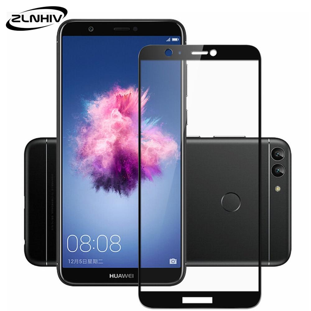 ZLNHIV 9H Tempered Glass For Huawei P Smart Z Plus 2018 2019 Protective Film Nova 4 4e 3 3i 3e Phone Screen Protector Smartphone
