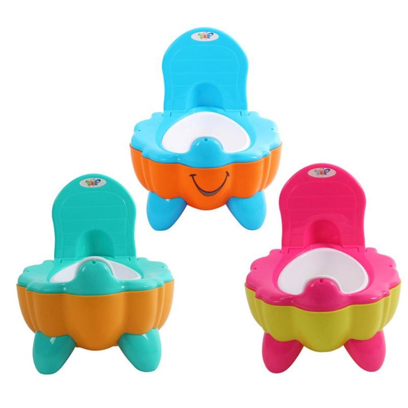 Pumpkin Baby Potty Drawer Child Toilet Seat Training Urinal Bedpan Backrest Tool  Improve Self-Care Ability For Happiness