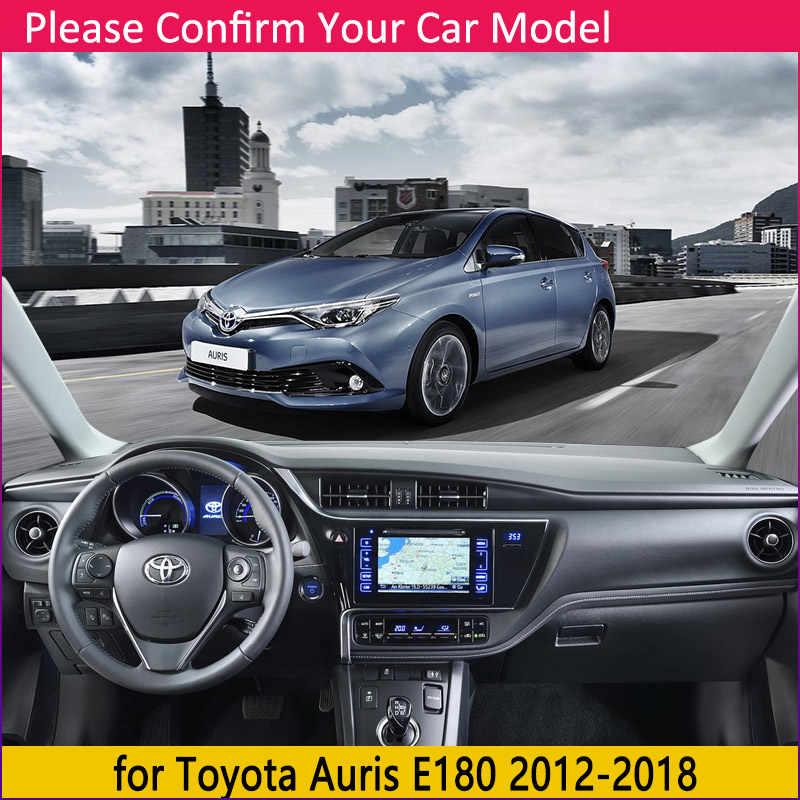 สำหรับ Toyota AURIS 2012 ~ 2018 E180 180 Scion IM Corolla Anti-SLIP MAT Dashboard ฝาครอบบังแดด Dashmat พรมอุปกรณ์เสริมพรม