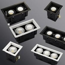 Lampy Grille 10W 20W 30W LED COB Spot Led Downlight możliwość przyciemniania AC85-265V ciepły naturalny zimny biały wpuszczana lampa sufitowa LED tanie tanio JSEX CN (pochodzenie) ROHS electronic Żarówki led Lampy grillowe 110 v 120 v 220 v 230 v 240 v 2Years Osadzone Klin Pokrętło przełącznika