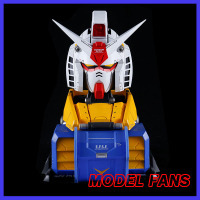 MODEL FANS IN STOCK LABX E MODEL Gundam model 1:35 RX 78 2 Gundam Head bust toy gift action figure