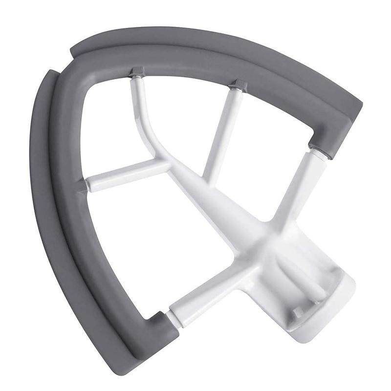 1Pcs Flex Edge Beater With Silicone Edges Spare Replacement Parts For KitchenAid K45SS Q5 4.5-5 Quart Tilt-Head Stand Mixer