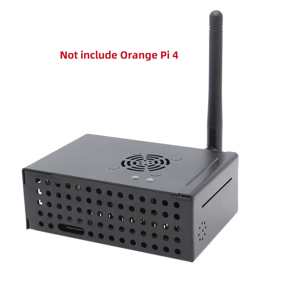 Orange Pi 4 Protective Shell Enclosure/Matching Metal Case With Cooling Fan For Orange Pi 4 Mother Board