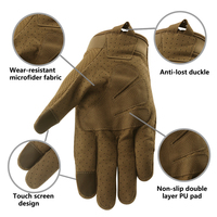 Breathable Full Finger Touch Screen Motorcycle Gloves Summer Tactical Military Gloves Racing Riding Cycling Motocross Gloves 4