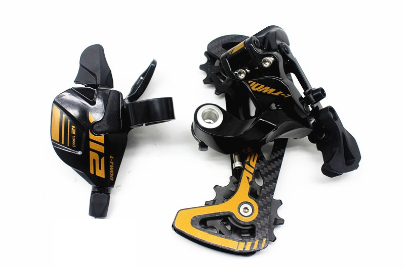 LTWOO 12 Speed MTB Trigger Shifter Lever Rear Derailleur 12S Compatible For M8100 / <font><b>M9100</b></font> / GX/ NX/ SX/ EAGLE image