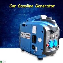 цена на HS2000T 2000W Portable Car Gasoline Generator 220V Electric DC Inverter Generator 3.2L Digital Gasoline Engine Generator