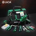 Большая распродажа LAOA 35 шт. Мощность набор инструментов 12V ионно-литиевая электродрель отвертка с рулетка плоскогубцы молоток ножевой фона...