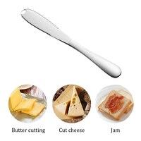 Edelstahl Multifunktions Butter Messer Creme Messer Westlichen Brot Marmelade Messer Creme Cutter Utensilien Besteck Dessert Werkzeug Butter-in Käsemesser aus Heim und Garten bei