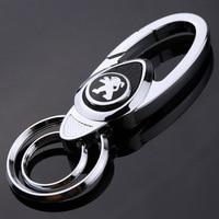 Geeignet für Dongfeng Peugeot Auto Logo Keychain 2073073084085083008 Schlüssel Kette|Schlüsseletui für Auto|Kraftfahrzeuge und Motorräder -