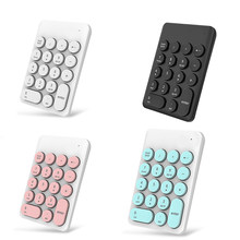 Baru Wireless Mini Keyboard dan Mouse Keypad dengan 16 Keys Putaran untuk Laptop PC DC128(China)