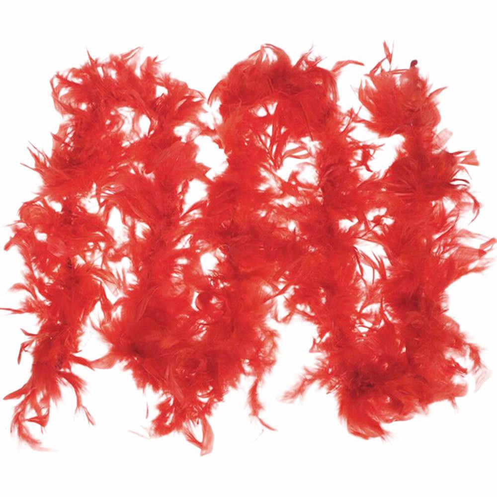 2020 ใหม่ชุดแฟนซี Feather BOA Burlesque Showgirl Hen Night เทศกาลประดับผ้าพันคอ