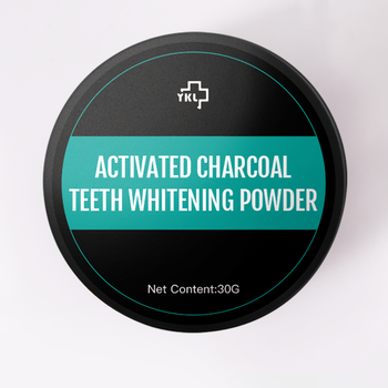 YKL 2020 New 30g Charcoal  Bamboo Tooth Whitening Powder Natural Charcoal Teeth Whitening Powder Black Tooth Powder Fresh Breath 30g tooth whitening powder activated bamboo charcoal toothpaste tartar stain removal natural teeth whitening charcoal powder