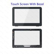 Touchscreen Digitizer Glass Bezel +LCD display Assembly for HP 11-K134tu 11-k135tu 11-k049tu 11-k050tu 11-k051tu 11-k052tu