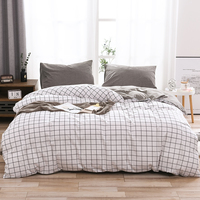100% cotton comforter bedding set bed cover Queen King nordic duvet cover set Bedclothes Quilt Cover Pillowcase Home Textile