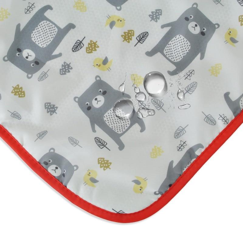 73*83 см детское многофункциональное зимнее теплое портативное одеяло с мультяшным рисунком, непромокаемое ветрозащитное одеяло для коляски