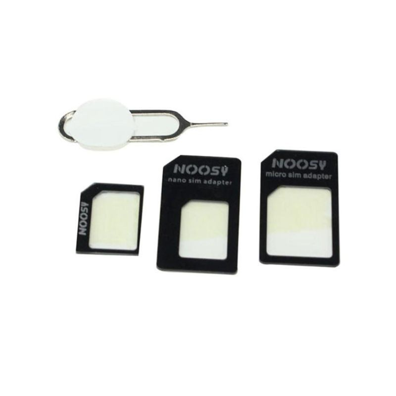 4 In 1 Convert Nano SIM Card To Micro Standard Adapter For IPhone  For Samsung 4G LTE USB Wireless Router J6PB