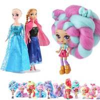 Boneca Princesa Anna Elsa 31 cm  brinquedo com 12 articulações