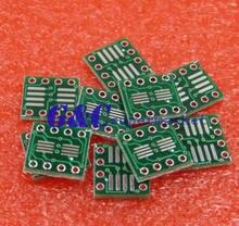 50 pièces SOP8 SO8 SOIC8 à DIP8 carte d'interposer carte pcb adaptateur plaque chaude
