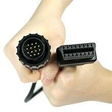14 To 16 Pin OBD2 Diagnostic Tools Connectors ELM327 OBD Extension Cable For BENZ Sprinter