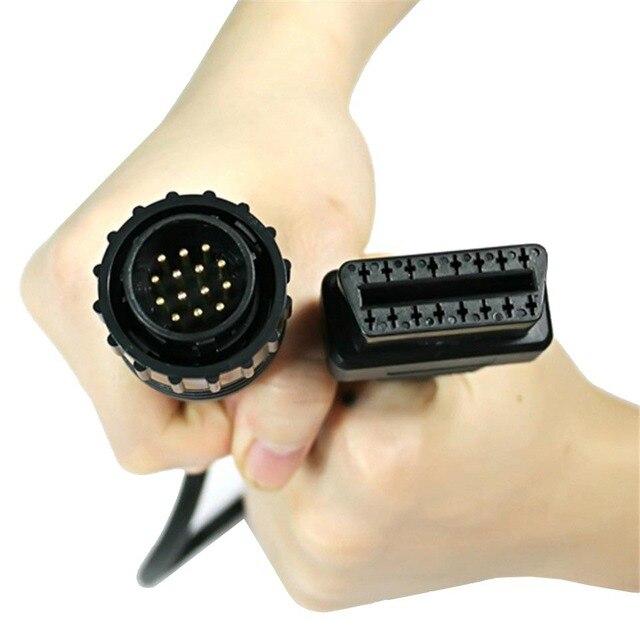 14 Đến 16 Pin OBD2 Công Cụ Chẩn Đoán Kết Nối ELM327 OBD Nối Dài Cho Mercedes Benz Sprinter