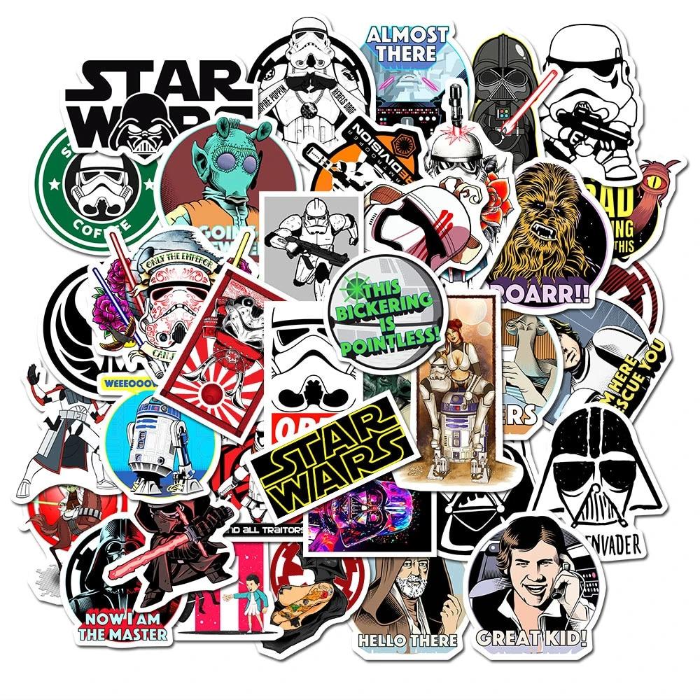 funny starwars princess Skateboard Sticker Laptop,Car Vinyl Decal New