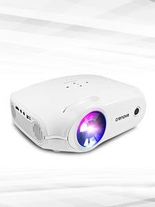 CRENOVA новейший светодиодный проектор для Full HD 4K * 2K видео проектор Android 7.1.2 OS домашний кинотеатр Кино проектор