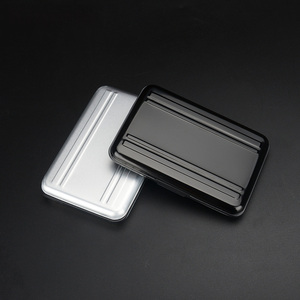 Image 3 - Portable Black Aluminum Memory Card Case 16 Slots (8+8) for Micro SD SD/ SDHC/ SDXC Card Storage Holder New Card Case