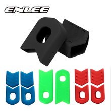 Crank Boots Protector Cover Bike-Chain-Set Bicycle Mountain-Bike 2pairs Dust-Proof Silicone