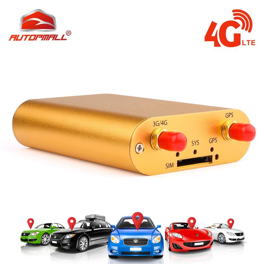 GPS Per Auto Tracker Vehicle Tracker 3G 4G GPS Tracker Per Auto Localizzatore Chilometraggio Rapporto in tempo Reale Più di velocità di Trasporto Web APP Localizzatore GPS