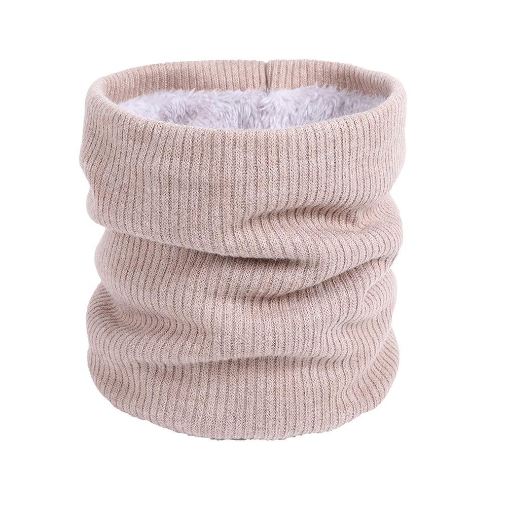 Warm Fur Fleece Neck Gaiter Turtle's Neck Light Weight Neck Warmer Woman Man Winter Sports  Warm Ring Scarf