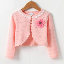 baby girl Short Coat Clothes Spring Autumn Girls Boys Cardigan Coat kids Long Sl