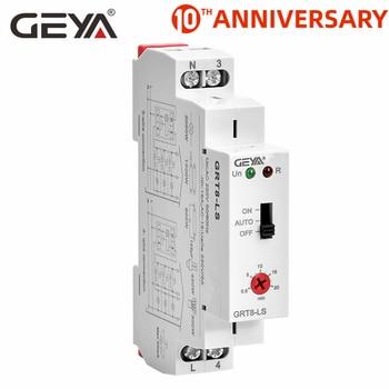 цена на Free Shipping GEYA GRT8-LS Staircase Switch Lighting timer relay 220VAC 16A used for Corridor Lighting Control