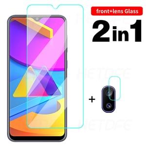 Image 1 - Screen Protector Protective Glass for Samsung Galaxy A10 A20 A30 A40 A50 A70 M10 M30 S Camera Lens Glass On Galaxy A20E A01 Core