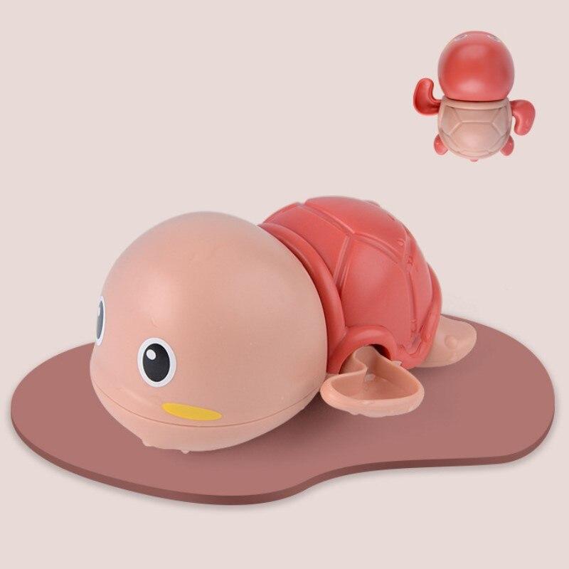Baby Bath Toys Zabawki Do Kapieli  ABS  Wind Up  Tortoise Style  Beach Bathroom Swiming Pool Play Water kids Toddler Toys 1