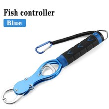 Fishing Gripper with Weight Scale Portable Fish Lip Grip Grabber Max Load Rubber Handle Fishing Tackle Tools(China)