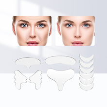 1Set Reusable Anti Wrinkle Chest Pad Silicone Transparent Removal Patch Face Skin Care Anti Aging Breast Lifting Chest Patch