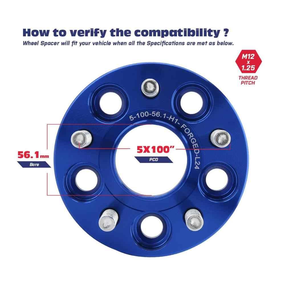 REGALO 75.0-65.0 Anelli Rubinetto Set di 4 PER CERCHI IN LEGA HUB Centric distanziatore ruota