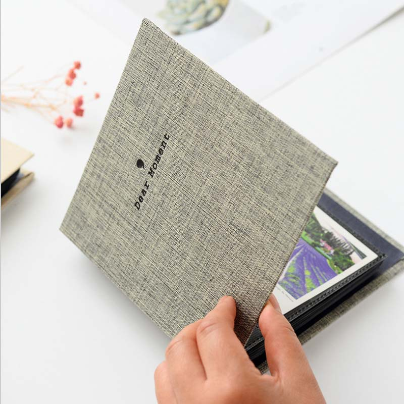3 Inch Cotton Mini Photo Album Insert Pocket  Picture Frame Use For Polaroid Album Fuji Instax Mini Photo Paper Universal