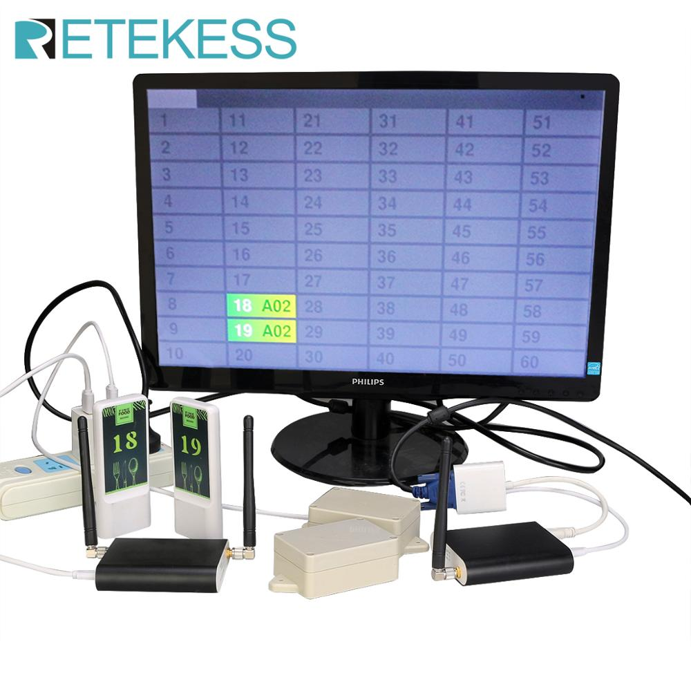 RETEKESS – téléavertisseur de Restaurant, système de livraison de positionnement de Restaurant, moniteur de nourriture de Table, serveur de livraison de nourriture pour Restaurant 1