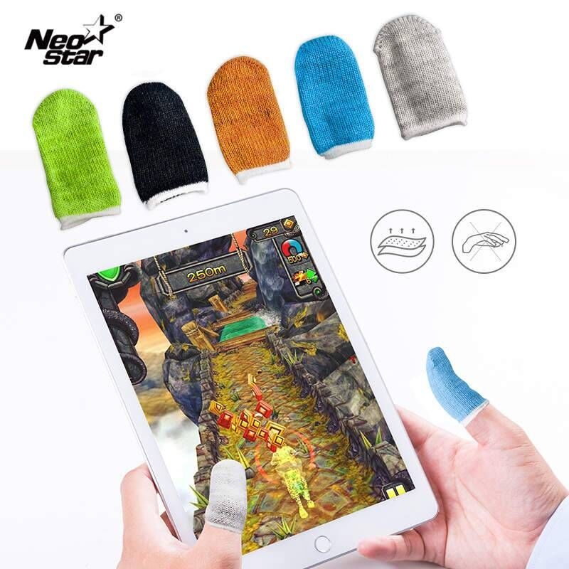 NEO STAR Anti-slip Gaming Finger Cover For PUBG/MOBA/iPhone/Android/iOS Mobile Phone/Tablet Anti-sweat Breathable Finger Cover