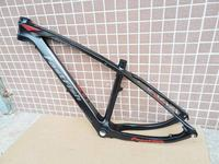 LaST bicycle Carbon Frame26 27.5 *14 16 17inch Carbon mtb Frame 26 er BSA BB30 Bike Bicycle Frame Max Load 250kg bicycle parts