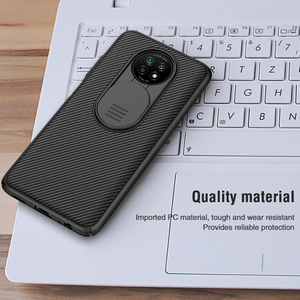 Image 5 - Nillkin Camera Len Bao Da Cho Xiaomi Redmi Note 9T Bảo Vệ CamShield Trượt