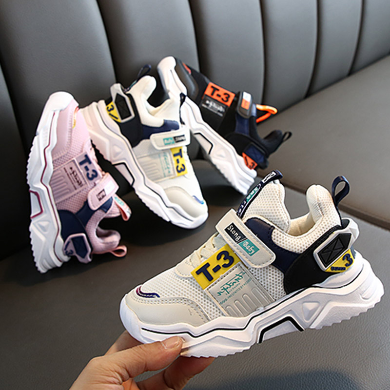 Cute Baby Boy Girl Shoes 3-11T Toddler Children Fashion Breathable Anti-Slip Sneakers Kids Soft Soled Casual Sport Shoes