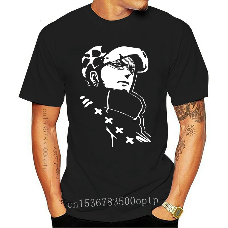 T-Shirts 2020 Brand Clothes Slim Fit Printing One piece t shirt, Trafalgar Law t, Heart Pirates, Cool anime tee For Men T shirt