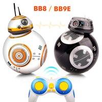 Robot RC BB 8 2.4G, télécommande avec son, figurine d'action, mise à niveau intelligente, modèle BB-8, jouets pour enfants