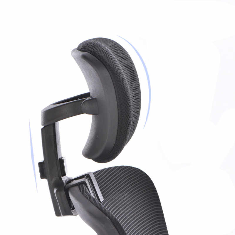 Adjule Headrest Swivel Lifting