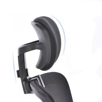 Офисный компьютер регулируемый подголовник поворотное подъемное кресло подушка с защитой для шеи офисное кресло аксессуары бесплатная ус...